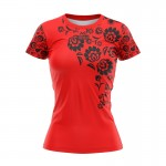 T-SHIRT DAMSKI RED FOLK