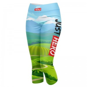 LEGGINSY 3/4 LOVE RUN