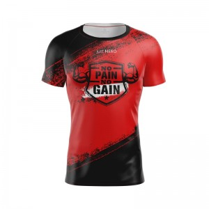 RASHGUARD MEN  No pain No gain