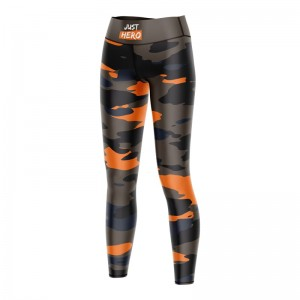 LEGGINSY LONG CAMO ORANGE