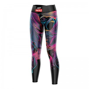 LEGGINSY WS DARK TROPIC