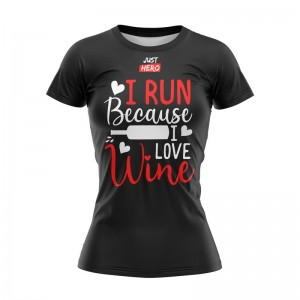 WOMEN T-SHIRT WINE