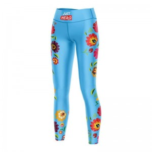 LEGGINSY BLUE FOLK