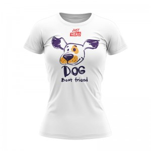 (TDKR) T-SHIRT DAMSKI DOG
