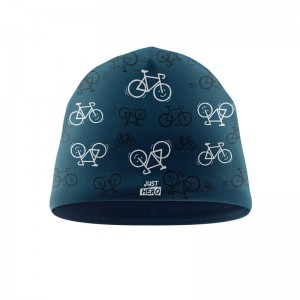 CZAPKA CRAZY BIKE BLUE