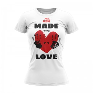 T-SHIRT DAMSKI MADE LOVE