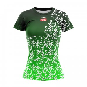 T-SHIRT DAMSKI AMAZING GREEN