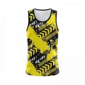 SINGLET WARNING YELLOW