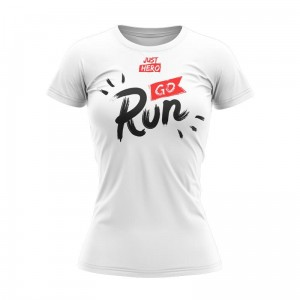T-SHIRT DAMSKI GO RUN