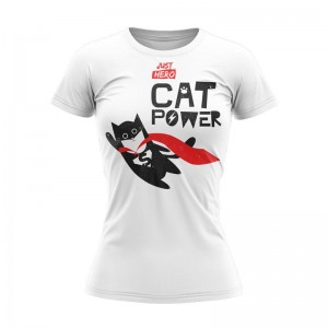 T-SHIRT DAMSKI CAT POWER