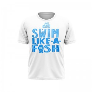 MEN T-SHIRT TECHN. SWIM LIKE