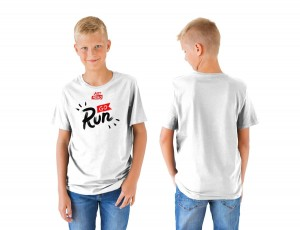 KIDS T-SHIRT GO RUN